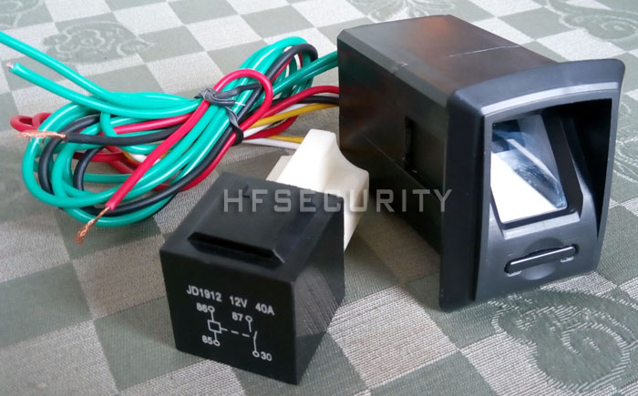 High-performance DSP Optical Finger Printing Car Locks (HF-CK900)