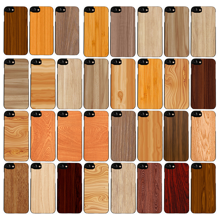 Free Sample Phone Case Wood for iPhone 7 6 Blank Wooden Case Cover for iPhone 7 Case