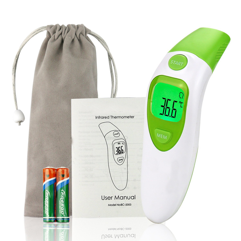 Berührungsloses Baby-Infrarot-Stirnthermometer des Ohrthermometers mit CE & FDA