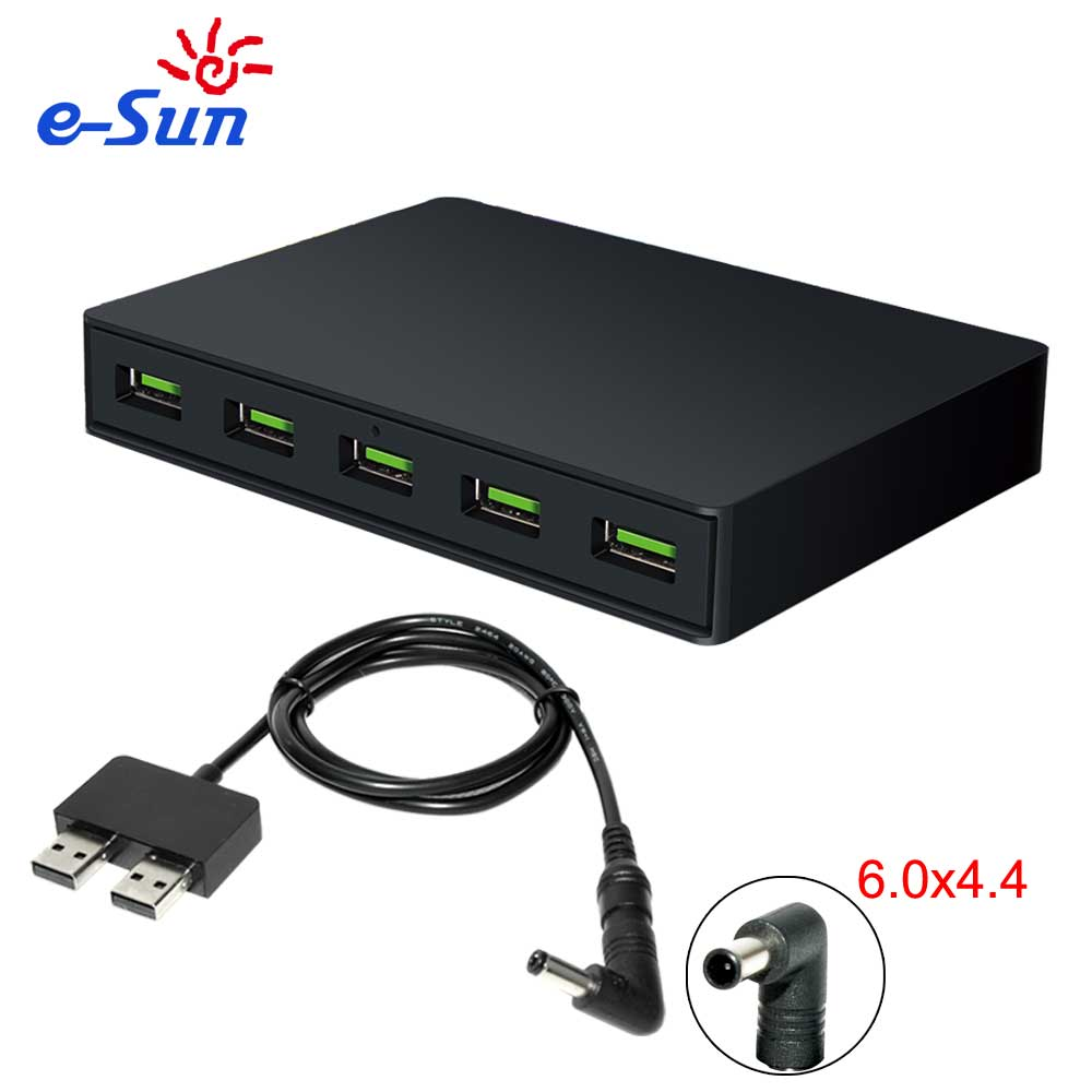Hot sales 5 ports QC3.0 multiple USB phone charger station