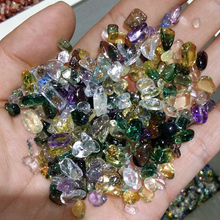 colorful mixed polished natural kinds quartz crystal tumbled healing stones for meditation