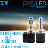 H7 led 100w motorcycle round headlight, H7 led conversion kit led headlight bulb