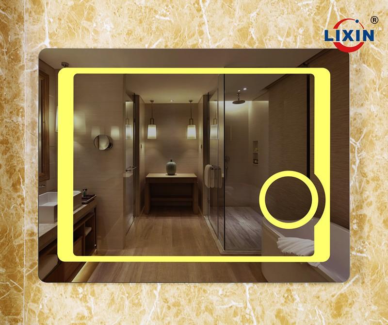 espejo iluminado irregular espejos con led para la decoracin del dormitorio con luces led