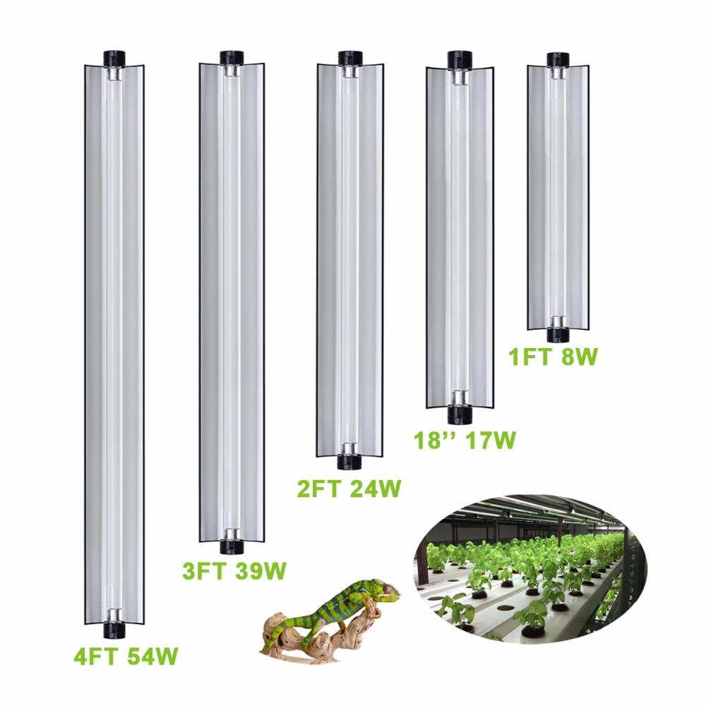 4 ft linkable fluorescent fixture tube bulbs full spectrum lamp vertical t5 grow lighting