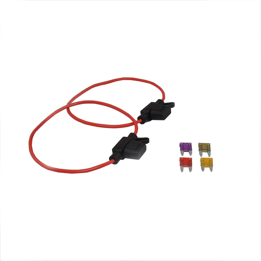 Cheap S Type Fuse Find Deals On Line At Alibabacom Buss Box Get Quotations 2 Pack 12v Water Resistant Add A Circuit Blade Inline