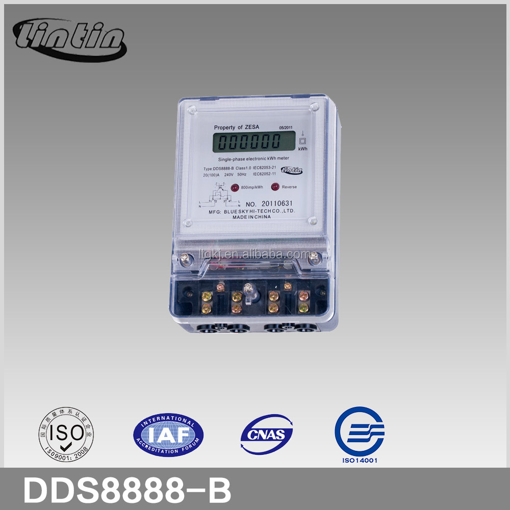 Dds8888 Single-phase Two Wire Transparent Long Terminal Cover ...