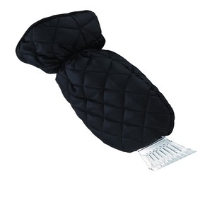 Factory Directly Price Simple Design OEM Car Cleaning Tool Ice Scraper Mitt Kit Glove with Ice Scraper