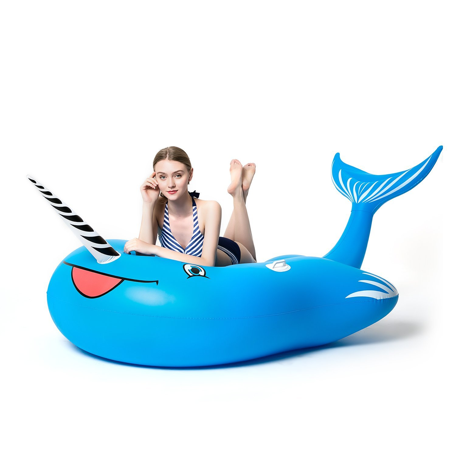 Pool Fun Outdoor Toys & Structures Blowup Whale Inflatable Water Sprinkler For Kids To Garden Hose Pool Toy Kids