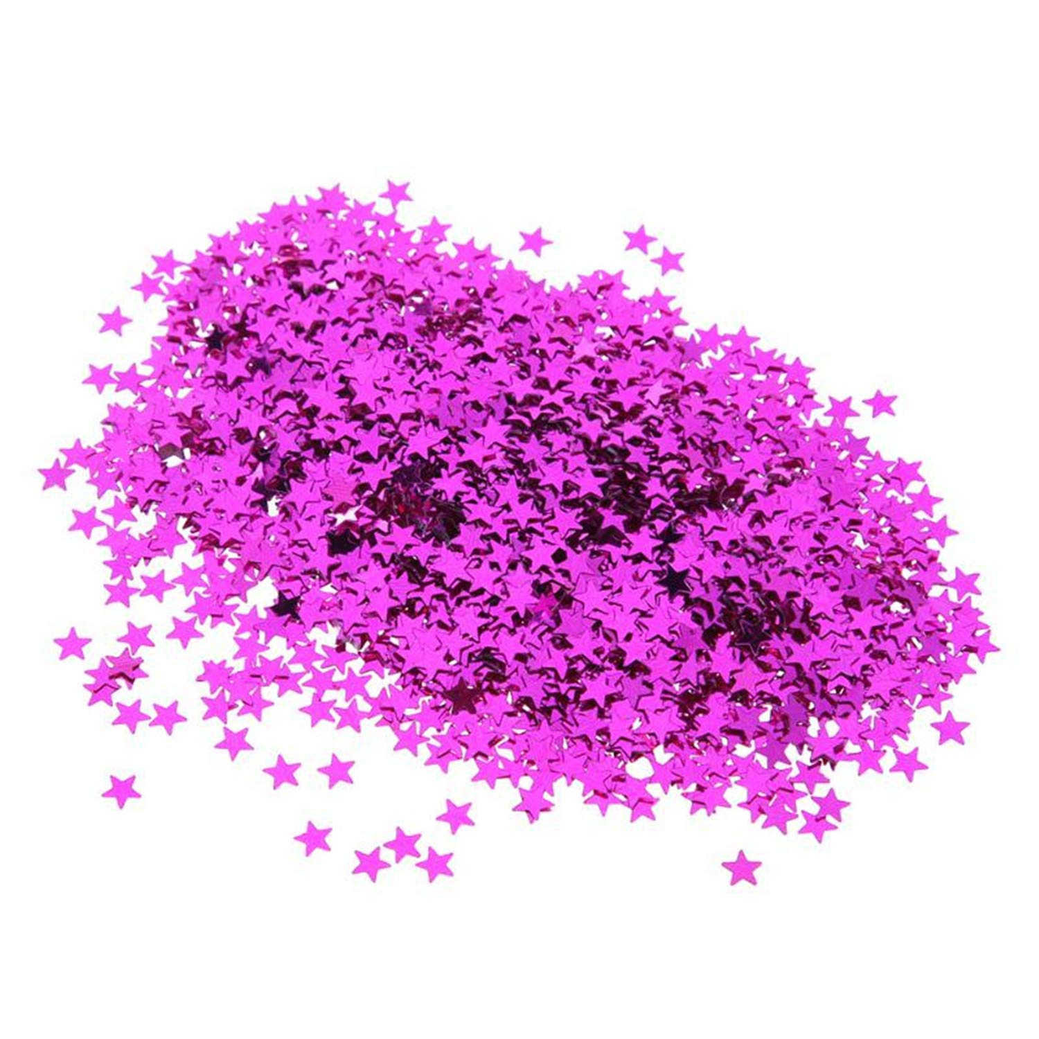 6000pcs 6mm Heart Sparkle Wedding Party Confetti Nail Sequins Flakes Art Glitter Decorations Table Decoration Party Decor Rose Red