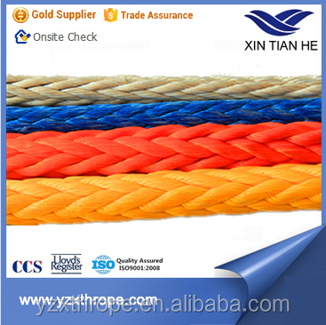 Factory Supply 24mm Uhmwpe Rope For Ship