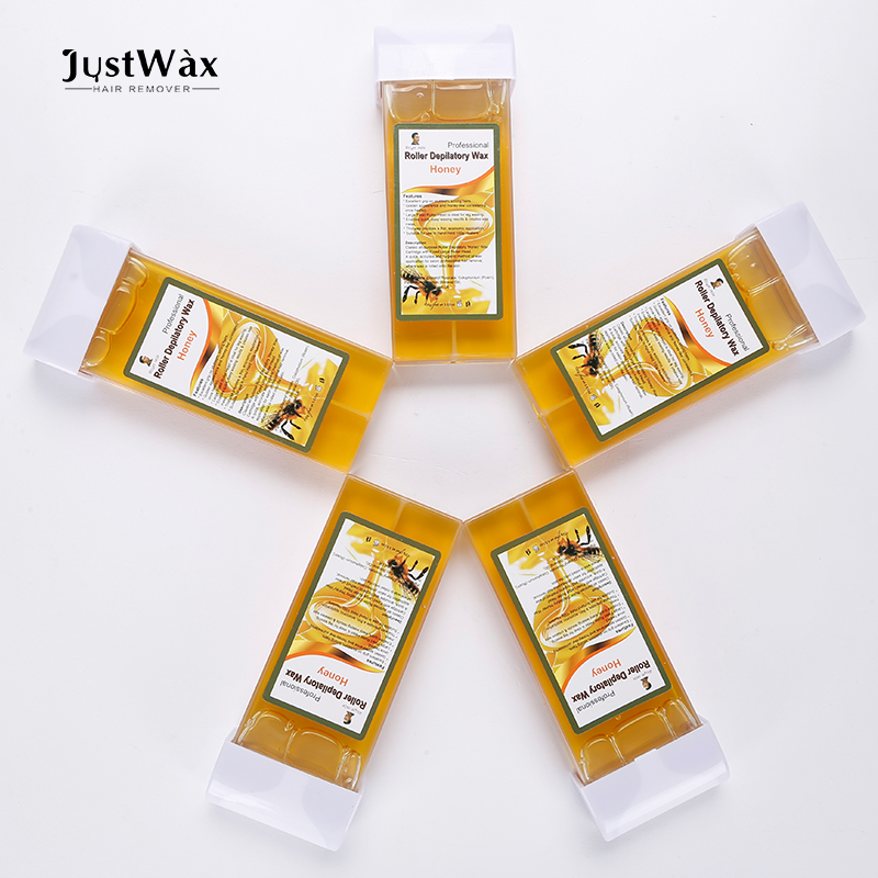 JustWax 100 ml Roll-on cartuccia di cera per la depilazione sugaring