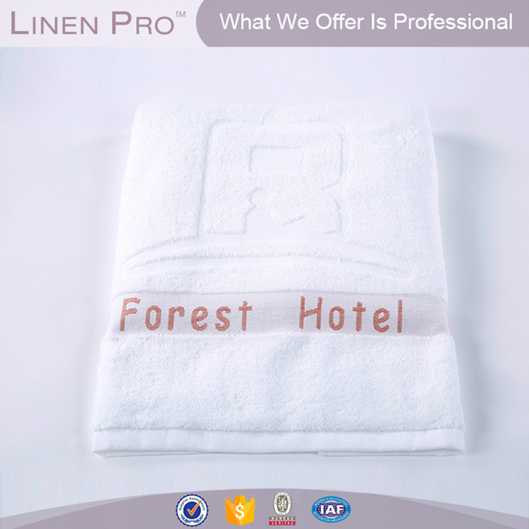 Hotel towel set jacquard decorations 100 cotton 16s 1,hotel towels balfour embroidered jacquard logo,16s/21s/32s hotel towel