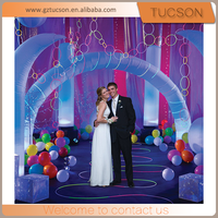 wonderful inflatable wedding arch for event for sale