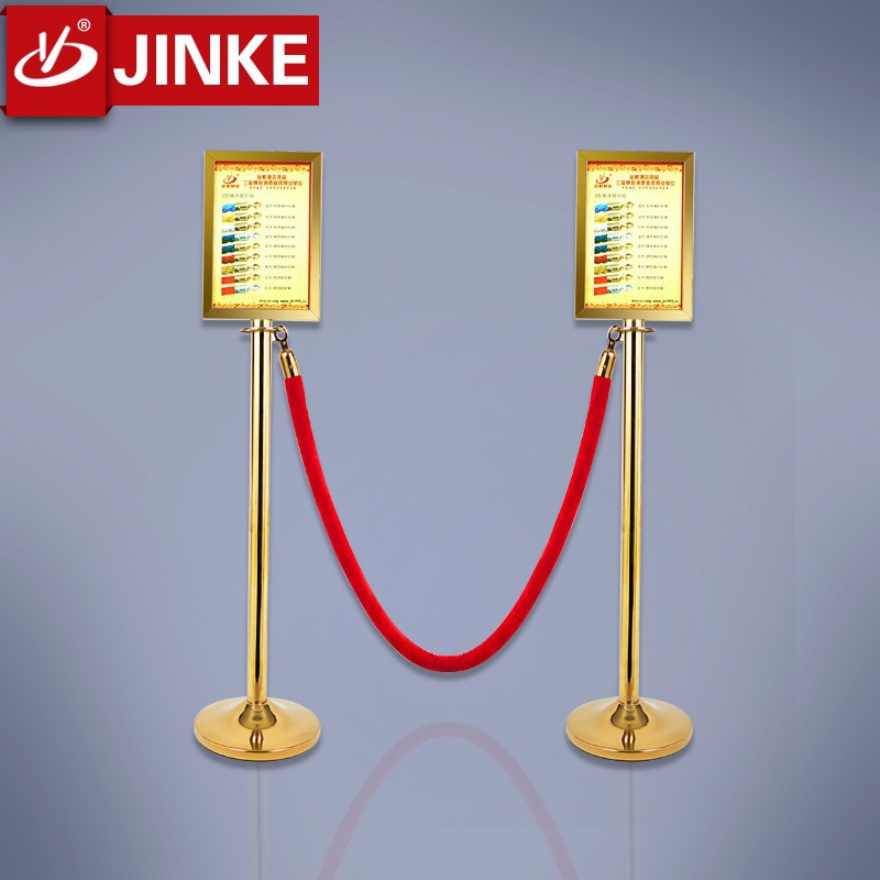 Stainless Steel Stanchion Post Sign Frame Square Sign Post