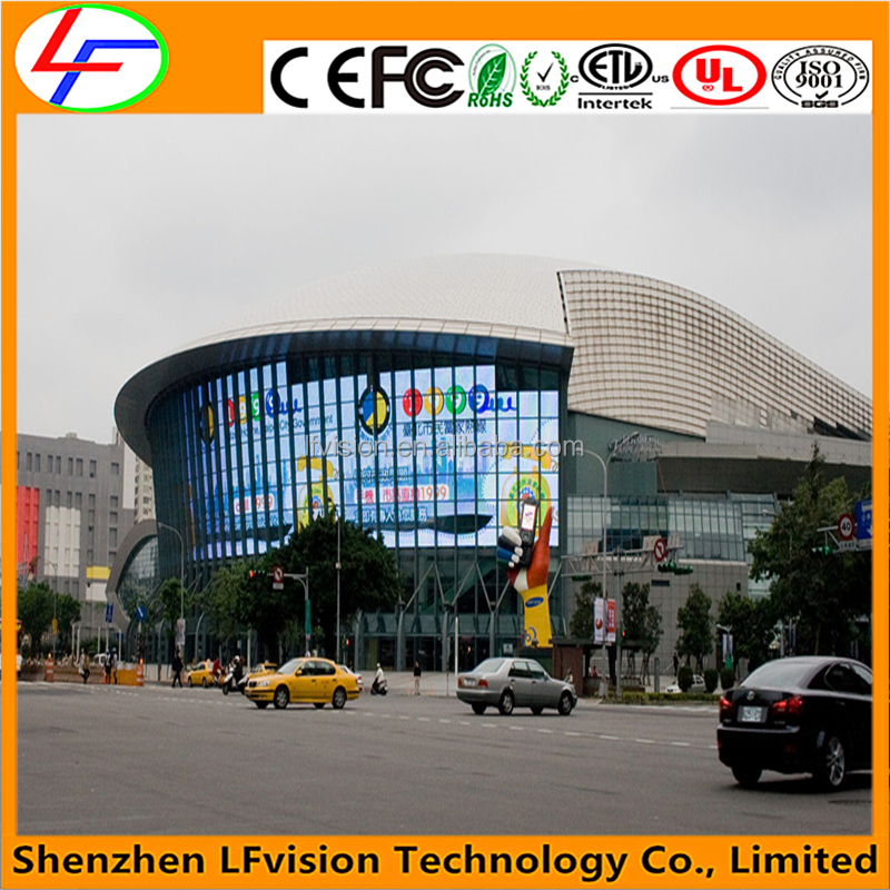 High Resolution Outdoor LED Display Screen Full Color / Electronic LED Business Signs