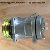 Air conditioner compressor assy 4130000420 SE5H14 for wheel loader LG936 LG946L LG956