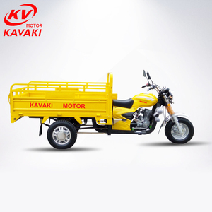 150 200 250CC Heavy loading cargo goods tricycle farm use motorcycle with 3/5 wheel tricycles 1000kgs