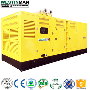 Japan MItSUBISHI Containerized 1500RPM 2000KVA Silent Diesel Dynamo Generator Price
