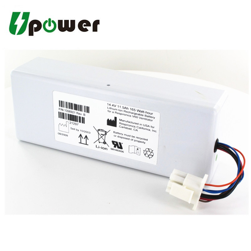 14 4v 11000mah Li-ion Rechargeable Replacement Battery For Respirateur V60  Respirateur V60s 88881344 1076374 - Buy Battery For Respirateur