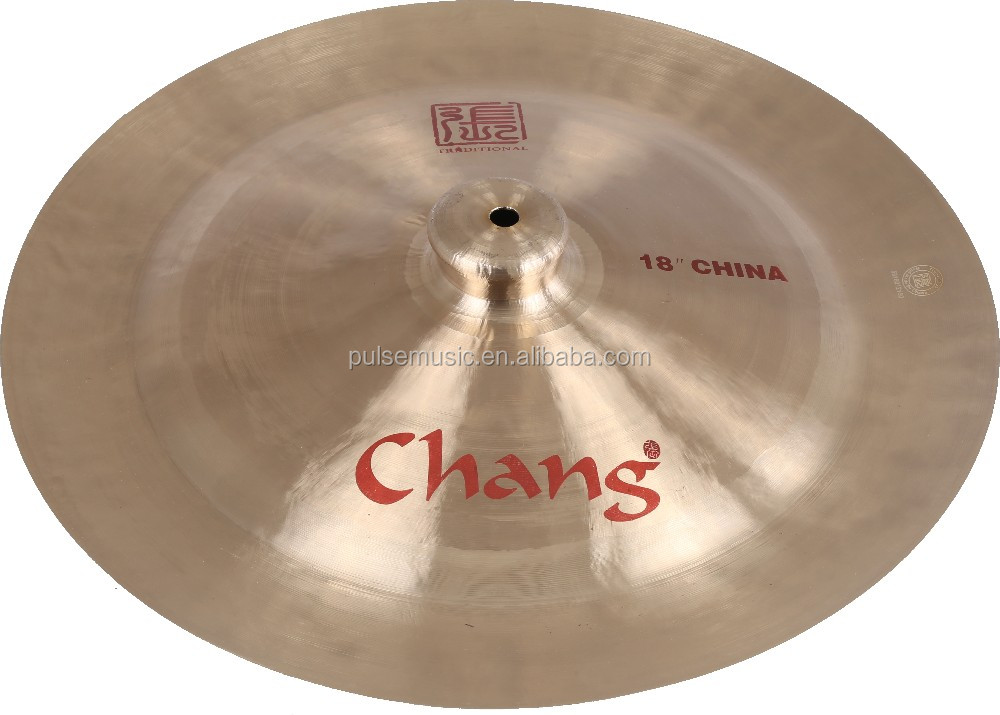 "12"" Chang Traditional China cymbal for drum set"