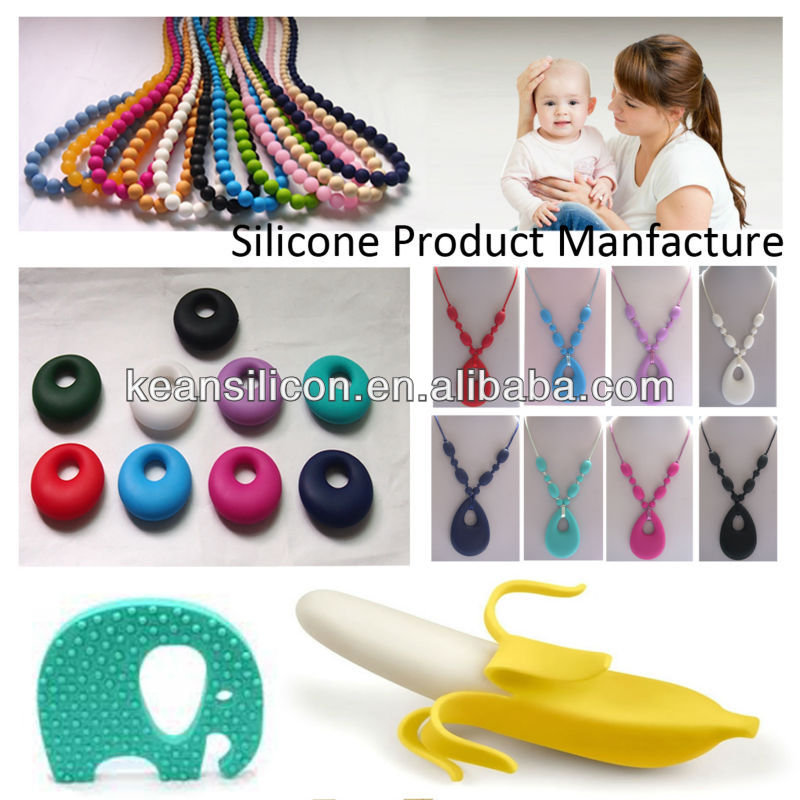 Customized Cute Silicone Baby Banana Teether