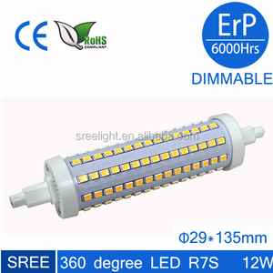 ultra bright led R7S lamp 5W J78 78mm length eco led lighting bulb led R7S 2835smd 48pcs