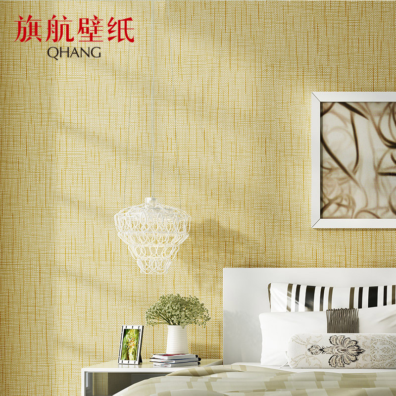 Modern Interior Decor Simple Plain Home Wall Paper Decorate Solid Pure Color Wallpaper
