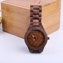 2018 SOPEWOD brand high quality trade assurance new fashion custom logo man lady sandalwood walnut zebra teak bamboo wood watch