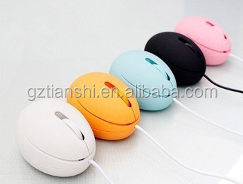 Wholesale colorful egg wired cartoon mouse for gift box