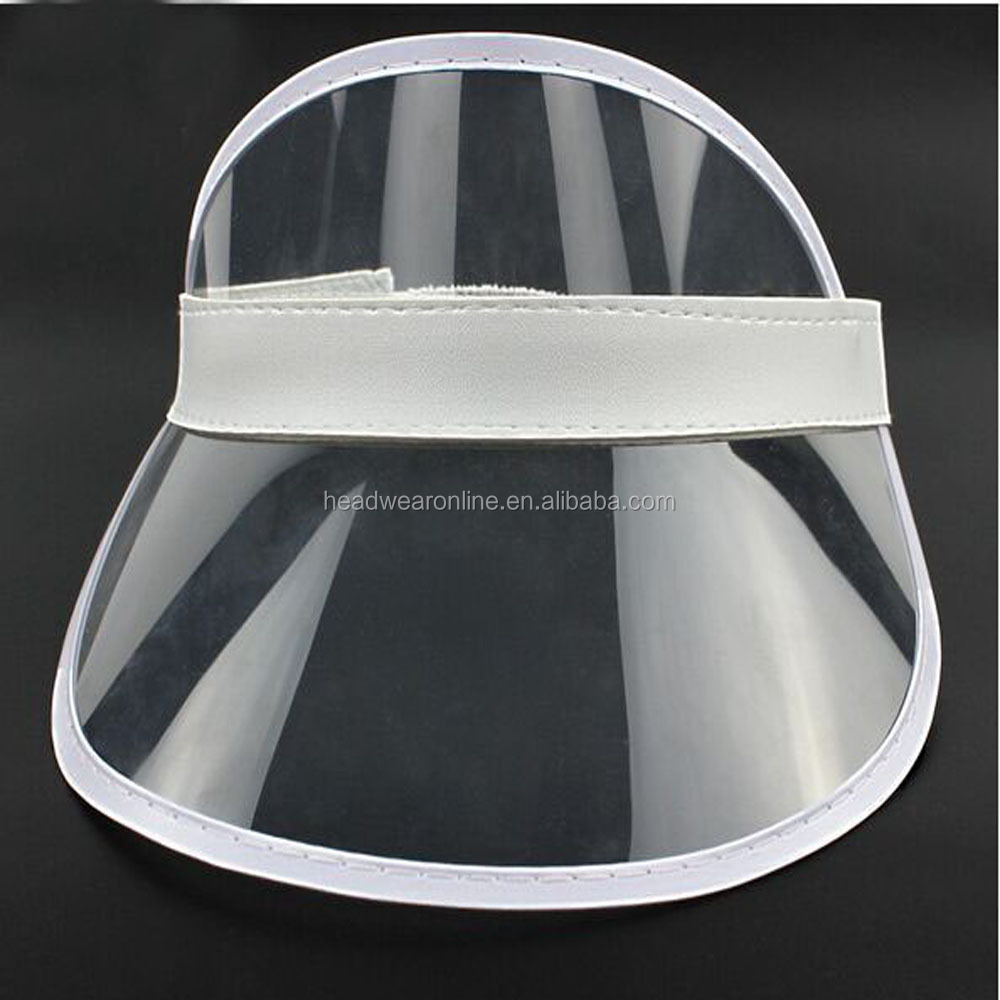 Manufacturers selling PVC empty hat multi-color uv protection caps into the summer