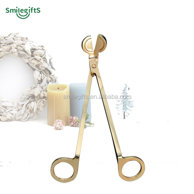 Custom Exclusive Figuratus Candle Wick Trimmer Stainless Steel Candle Wick Scissor