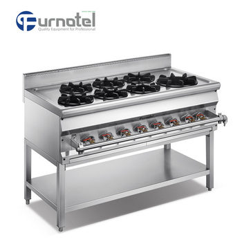 1200 Asian Gas Range A Series With Stand FAGGR-1207AS