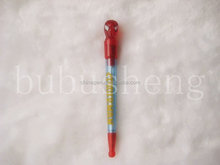 2017 products ball pen spring with free ball pen sample spider-man
