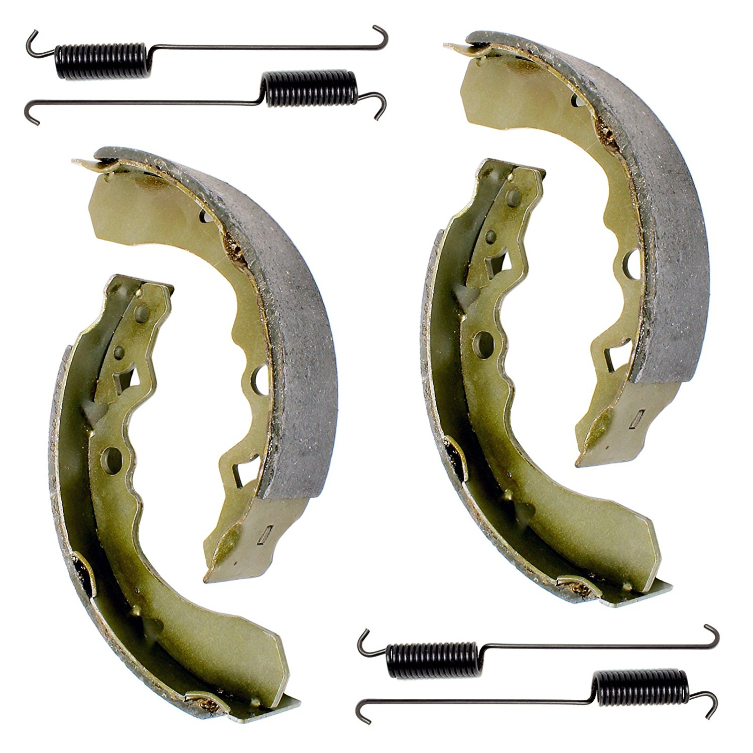 Get Quotations · CALTRIC FRONT BRAKE SHOES FIT SUZUKI LT-F250F LTF250F QUADRUNNER  250 4X4 1999-2002