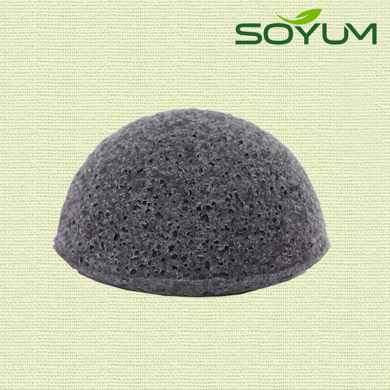 Konjac sponge foam sponge half ball shape cleaning sponge