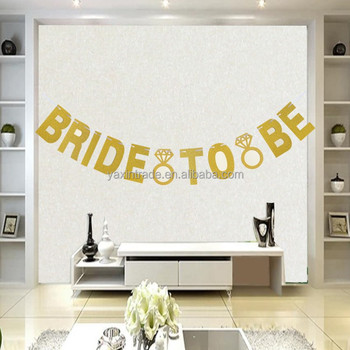 bridal shower photo booth backdrop wedding decoration glitter bride to be diamond ring banner