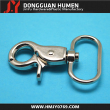 Bag parts metal swivel carabiner hooks small alloy snap hooks for bags