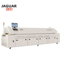PCB Soldering machine smt Reflow oven for LED production Line