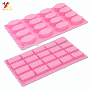 Custom Eco-Friendly Silicone Soap Molds Baking Cake Molds factory supplier
