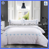 Factory derict price 100% cotton bed sheets for home hotel OEM size available