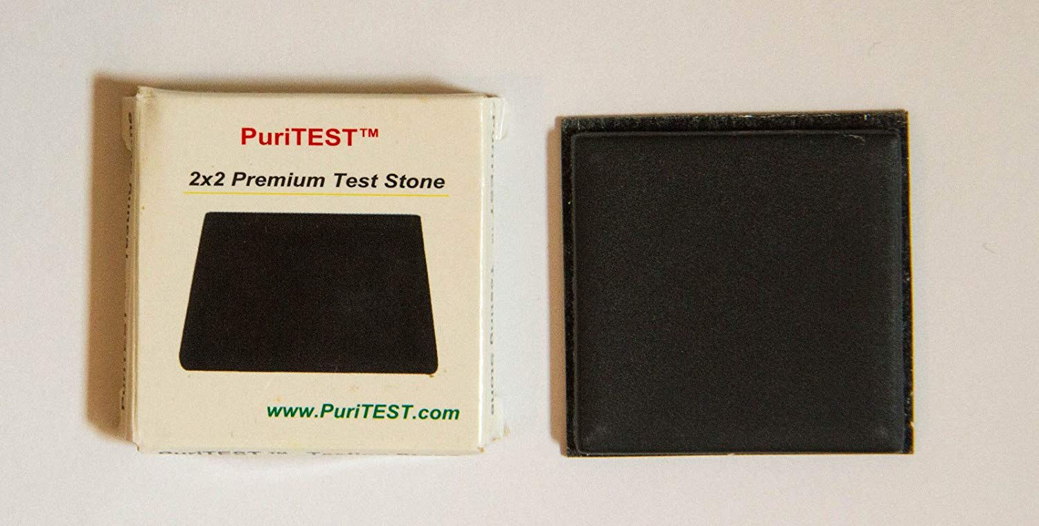 1pc. PuriTEST Brand Acid Test Stone Gold Silver Platinum Testing Tools Tester Kit Metal Jewelry