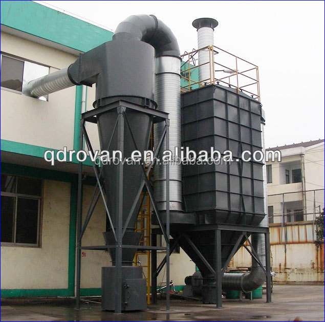 High quality Rovan industrial cyclone dust collector-dust collector