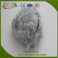 4.5DX65mm Bright white Polyester staple fiber for Geotextile