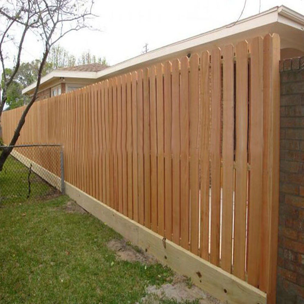 Madera de cedro paneles cercas perro oreja piquetes para - Paneles madera jardin ...