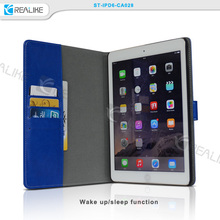 New design detachable wallet leather case cover for ipad 2 3 4