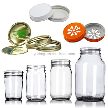 4oz 8oz mason jar drinking glass jar with lid 4 oz glass mason jars for