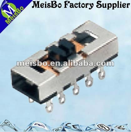 Ten pin ON OFF smd mini slide switch
