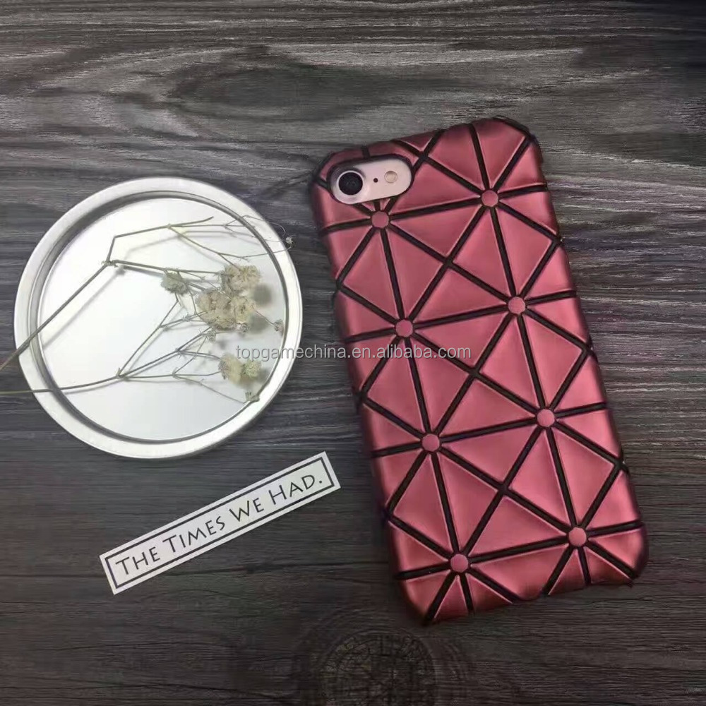 hot selling mobile phone pc+pu leather phone case cover for iphone 7 7plus 6 6plus Bao phone cases