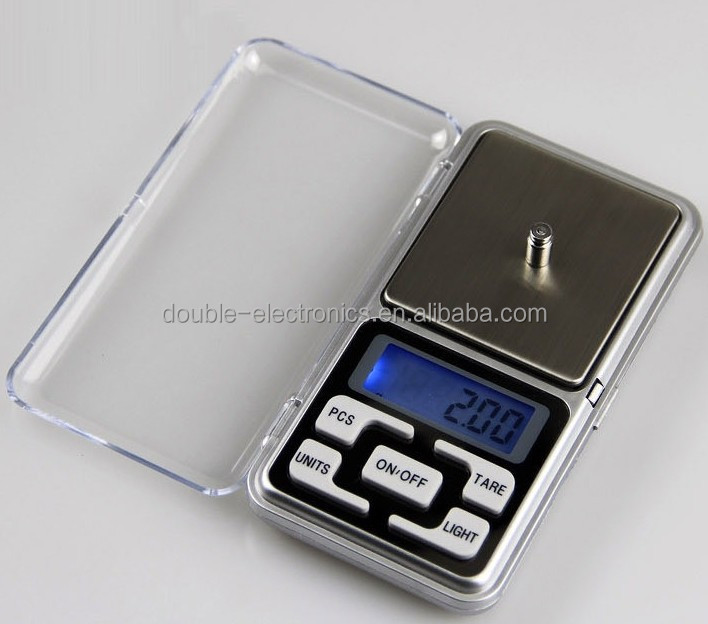 Mini Electronic Digital Jewelry weigh Scale Balance Pocket Gram LCD Display With Retail Box