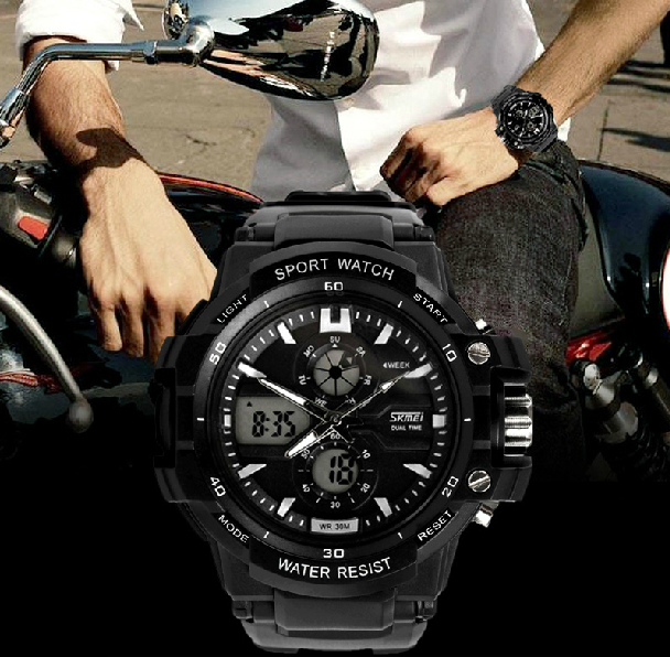 factory direct selling price skmei 0990 men digital watches analogue black relojes hombre baratos from guangzhou